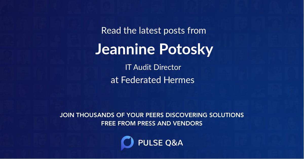 Jeannine Potosky
