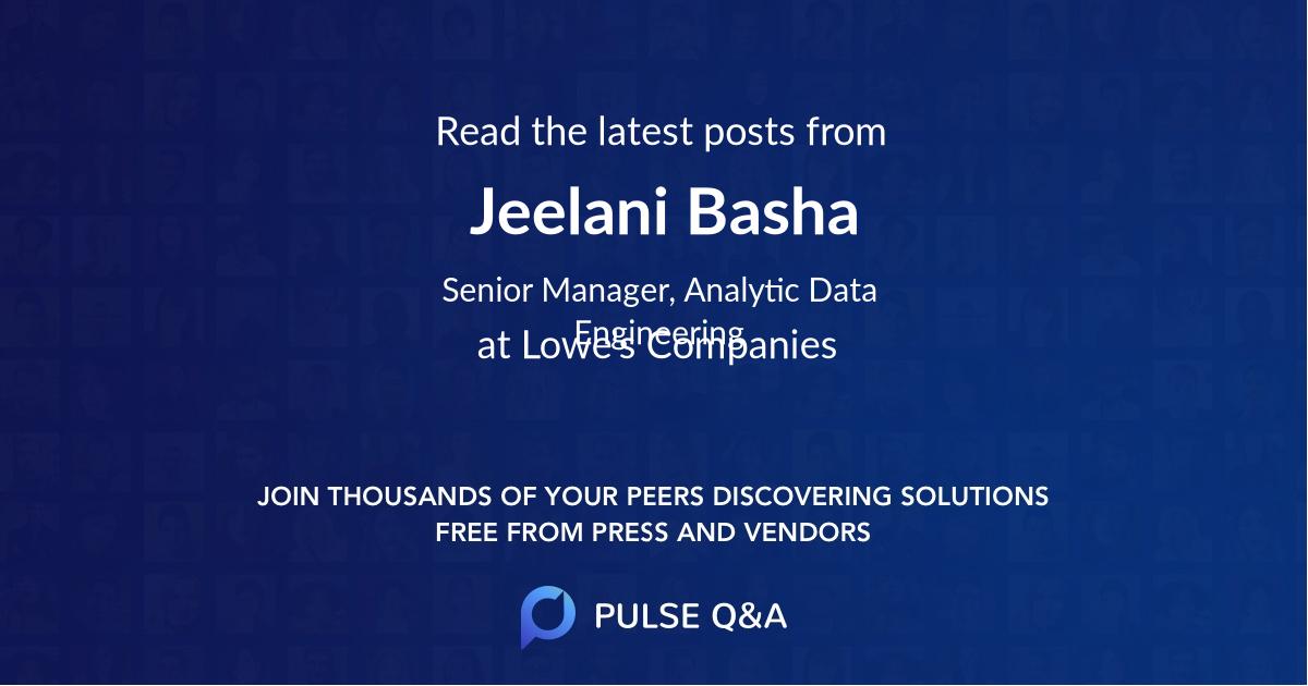 Jeelani Basha