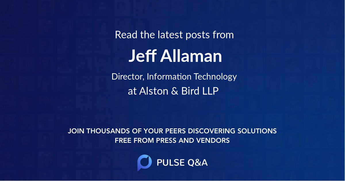 Jeff Allaman