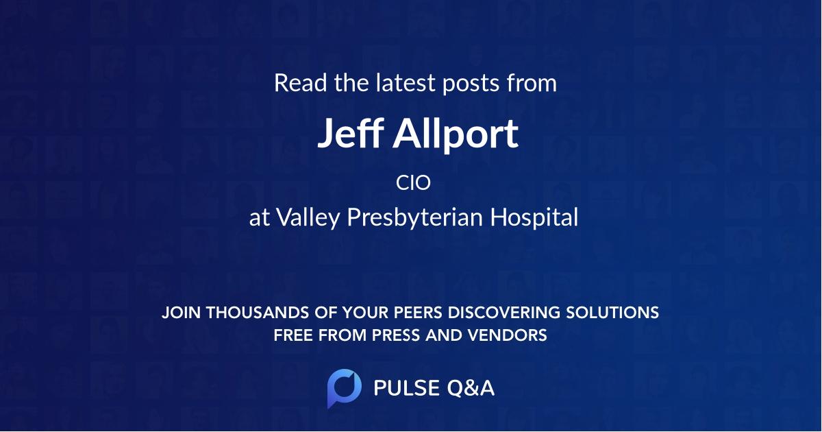 Jeff Allport