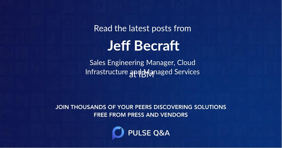 Jeff Becraft