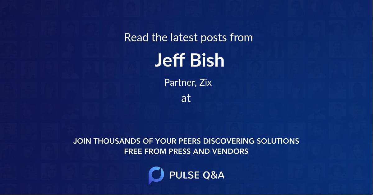 Jeff Bish