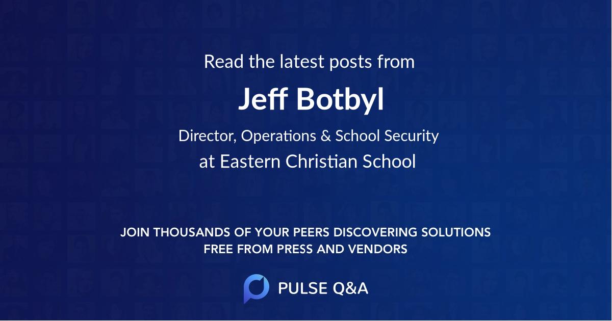 Jeff Botbyl