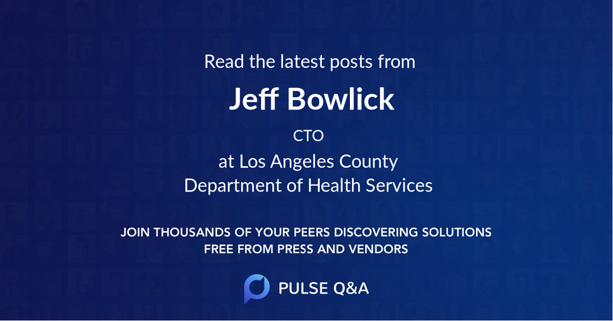 Jeff Bowlick