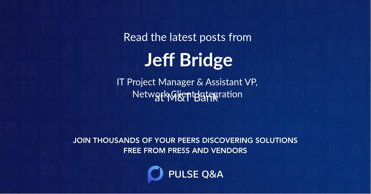 Jeff Bridge
