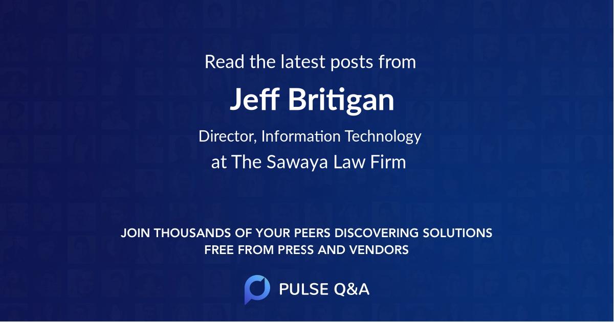 Jeff Britigan