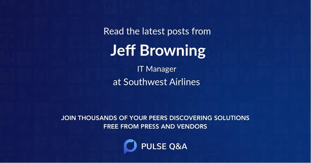 Jeff Browning