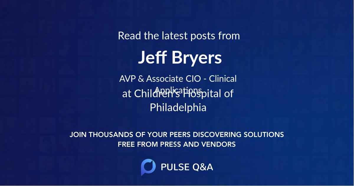Jeff Bryers