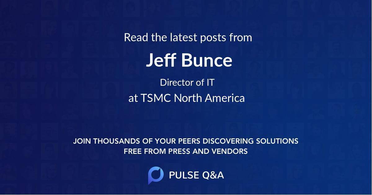 Jeff Bunce