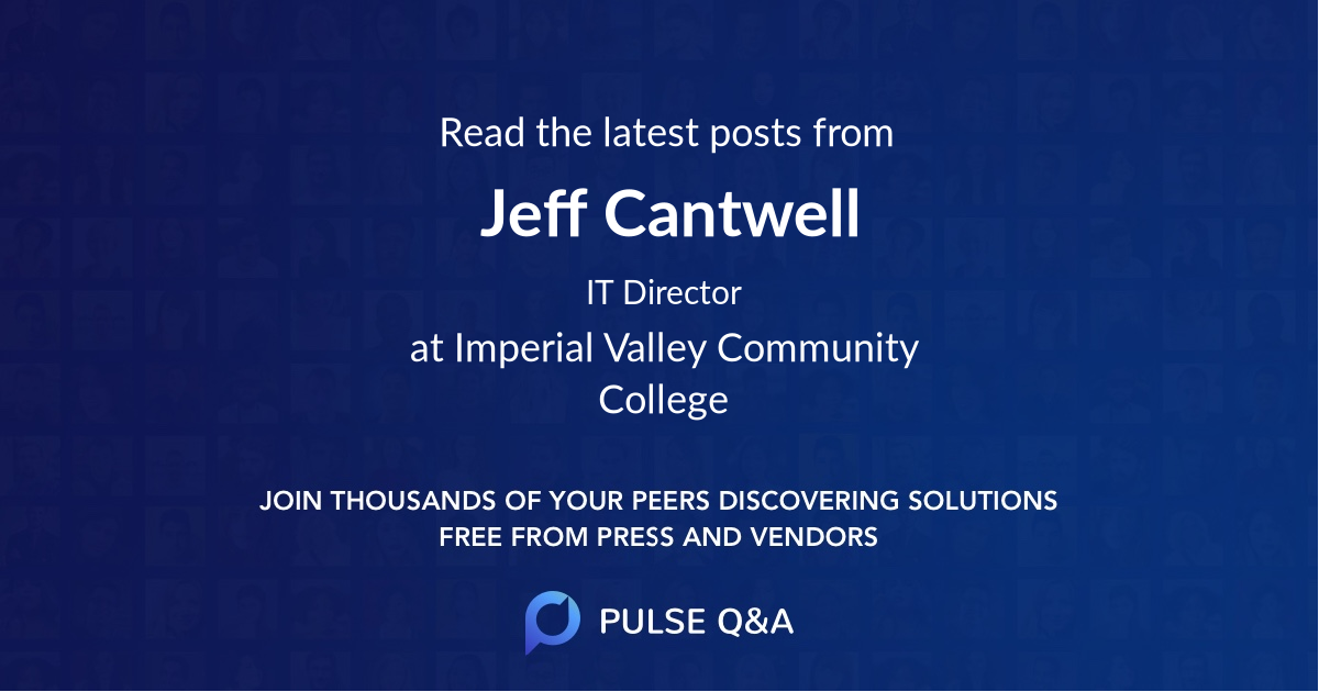 Jeff Cantwell