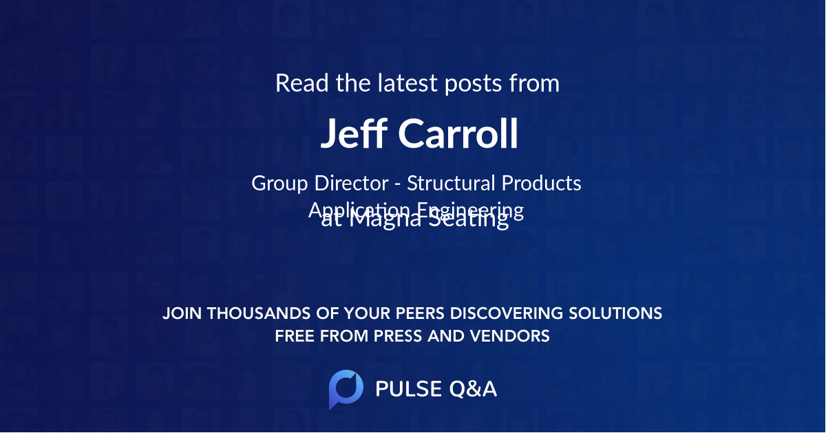 Jeff Carroll