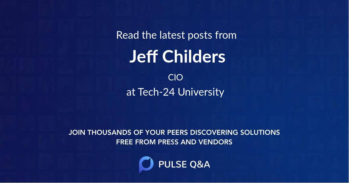 Jeff Childers