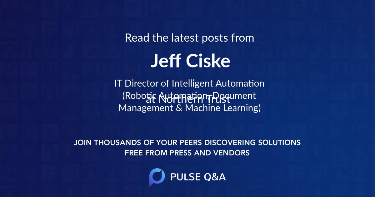 Jeff Ciske