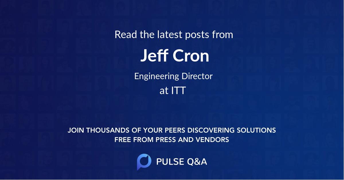 Jeff Cron