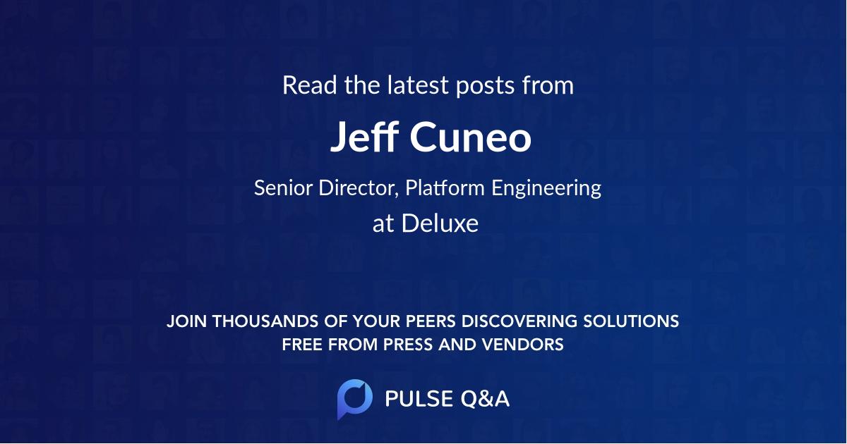 Jeff Cuneo