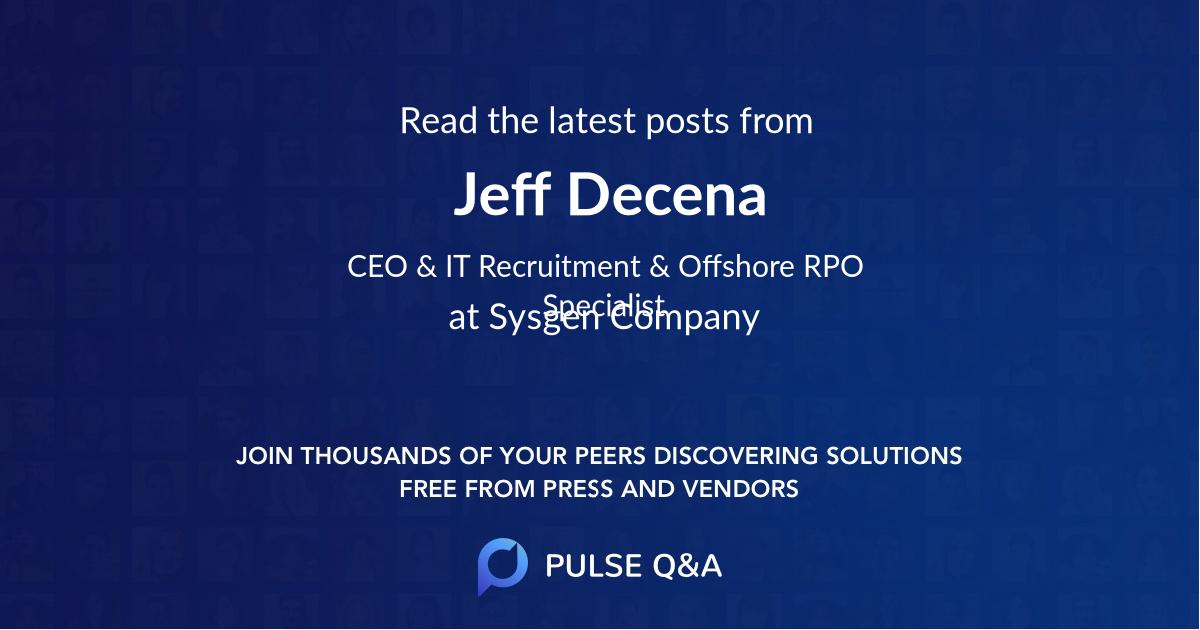Jeff Decena