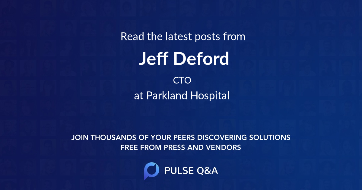 Jeff Deford