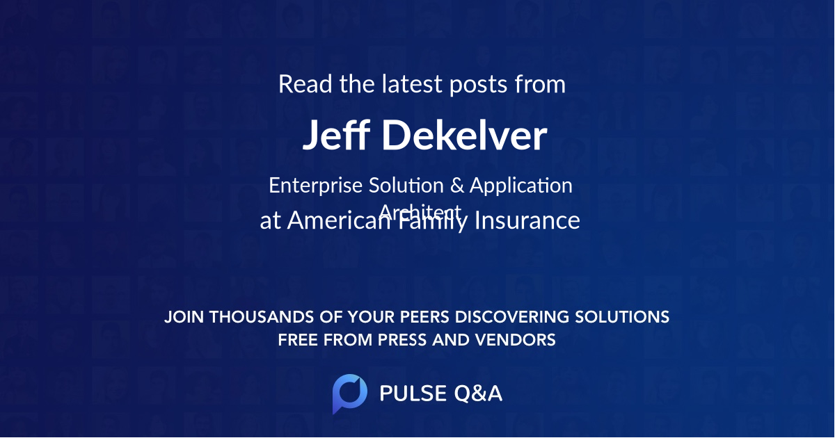 Jeff Dekelver