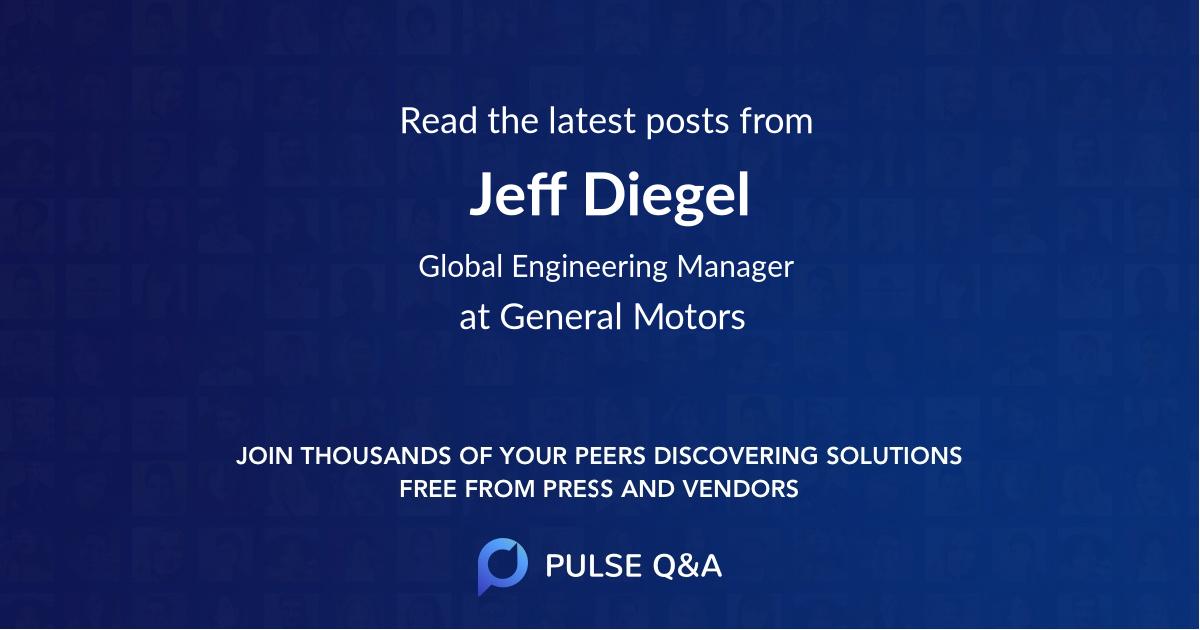 Jeff Diegel