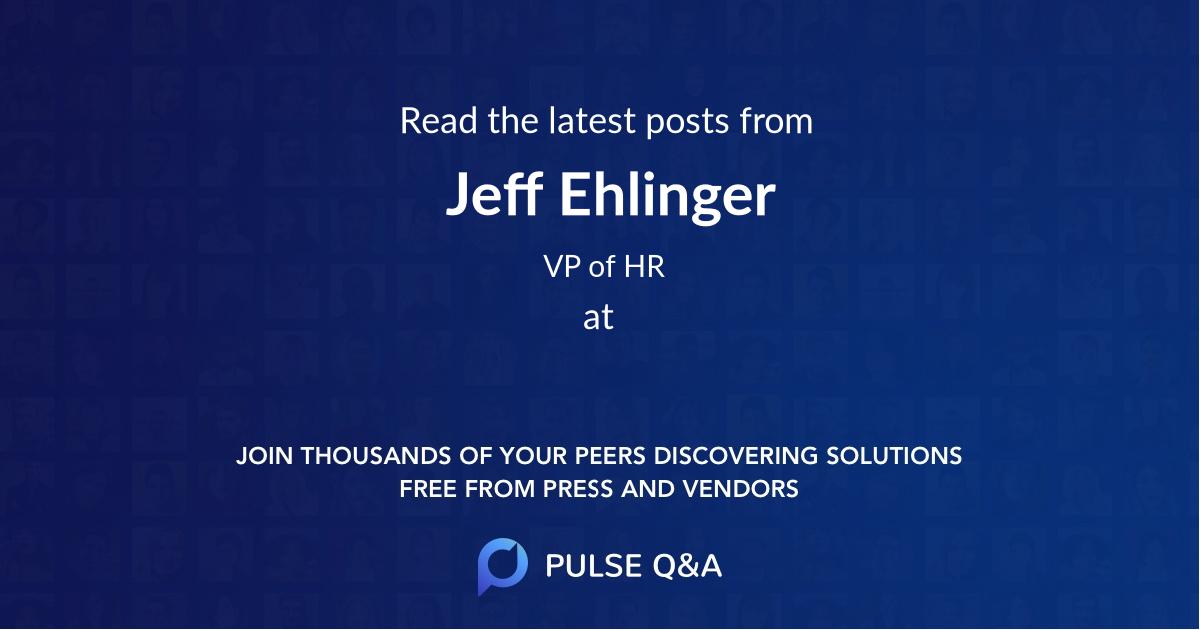 Jeff Ehlinger
