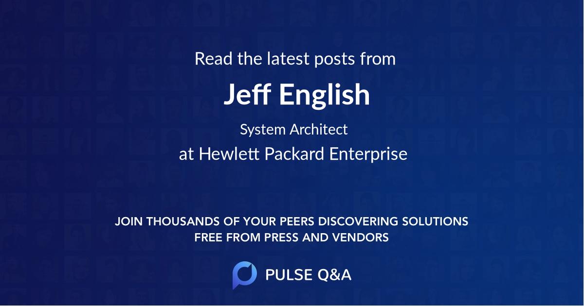 Jeff English