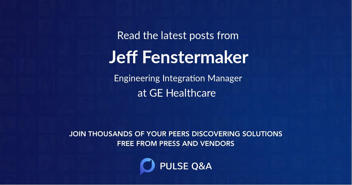 Jeff Fenstermaker