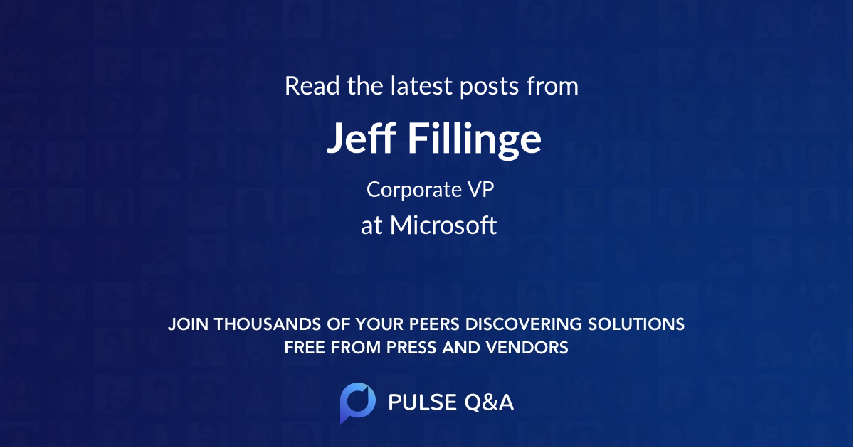 Jeff Fillinge