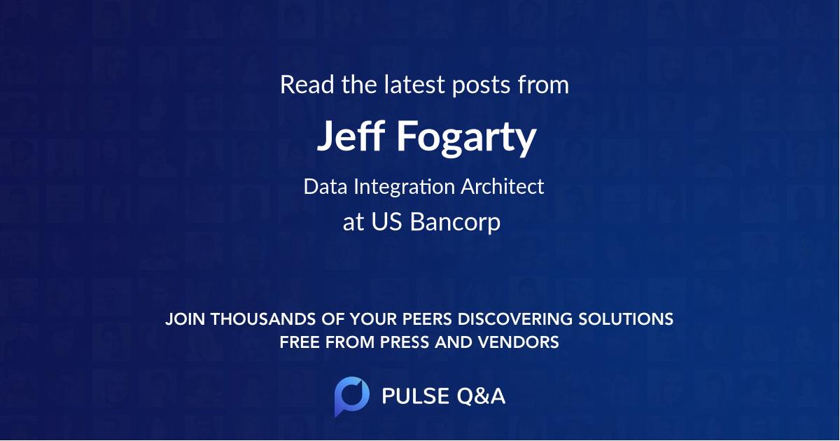 Jeff Fogarty