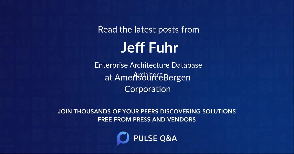 Jeff Fuhr