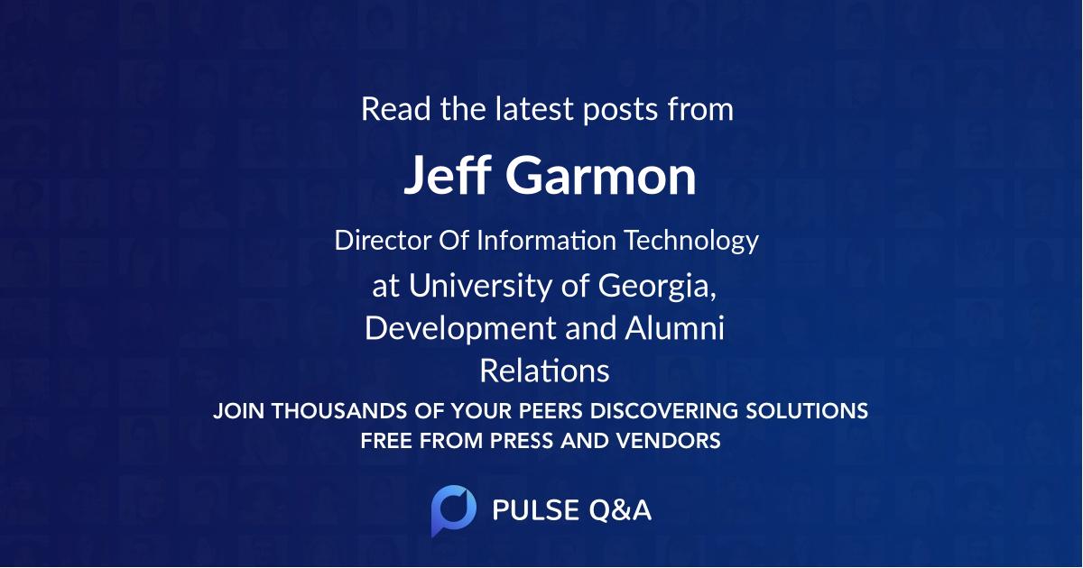 Jeff Garmon