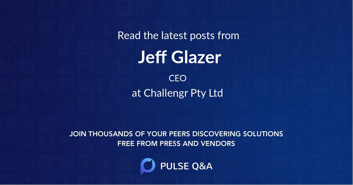 Jeff Glazer