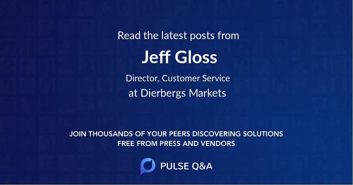 Jeff Gloss