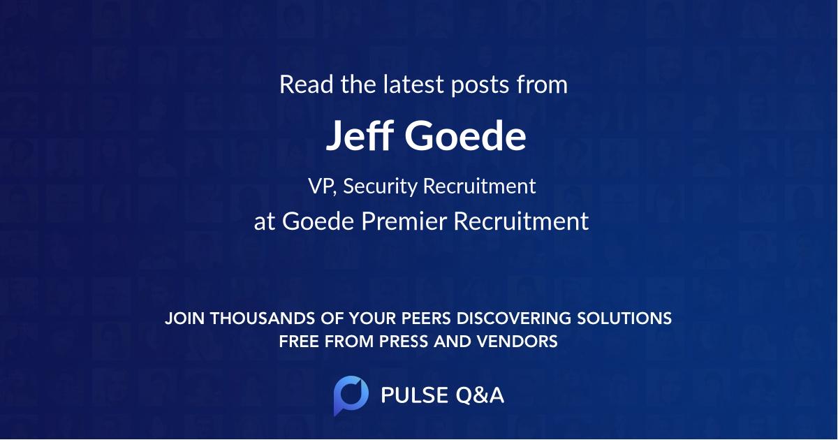 Jeff Goede