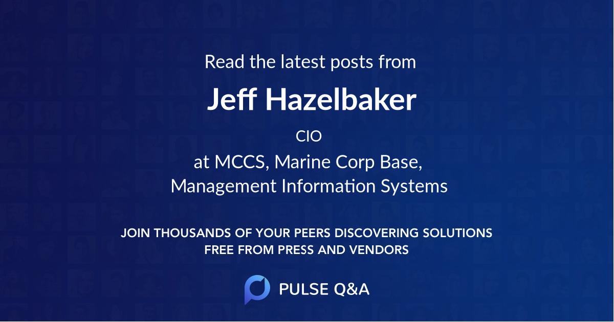Jeff Hazelbaker