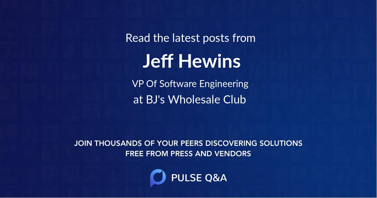 Jeff Hewins