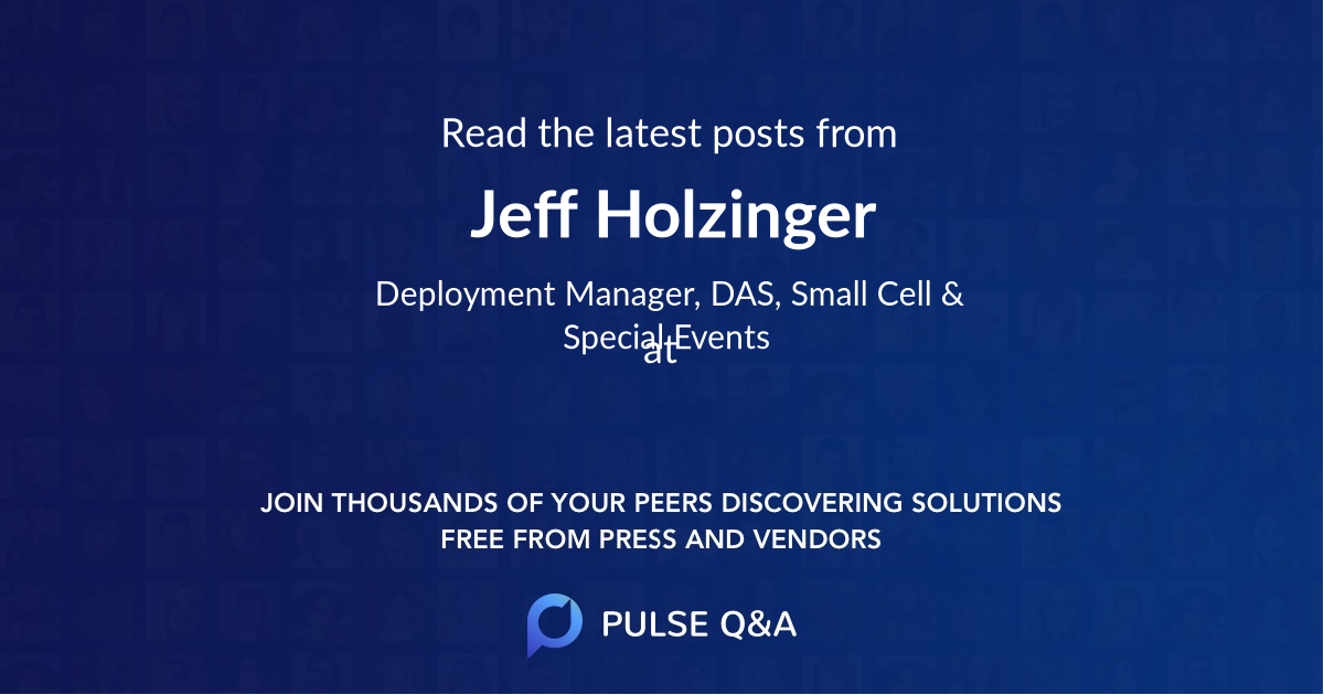 Jeff Holzinger