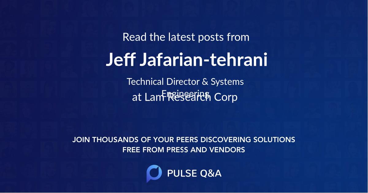 Jeff Jafarian-tehrani