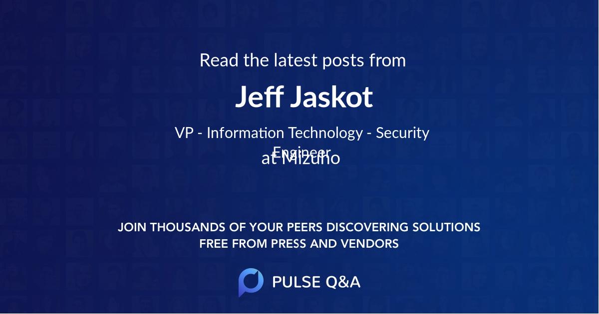 Jeff Jaskot
