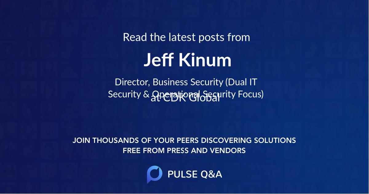 Jeff Kinum
