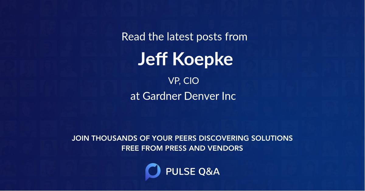 Jeff Koepke