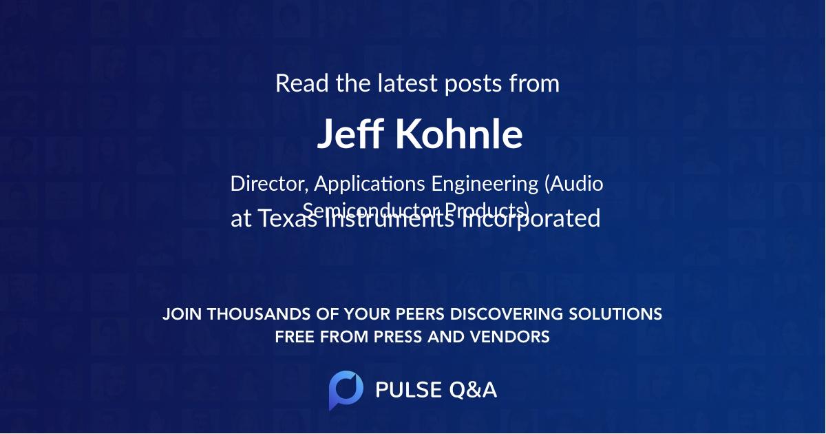Jeff Kohnle