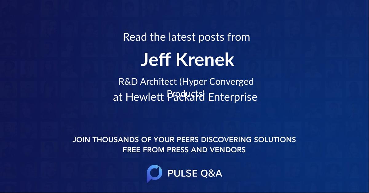 Jeff Krenek