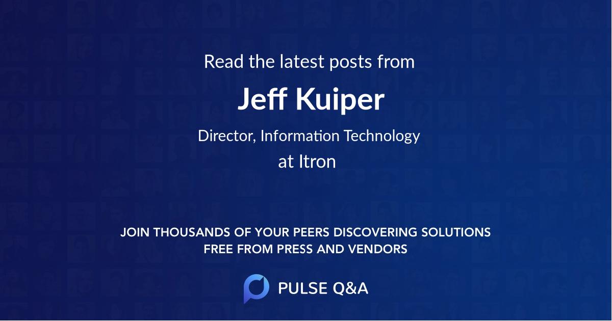 Jeff Kuiper