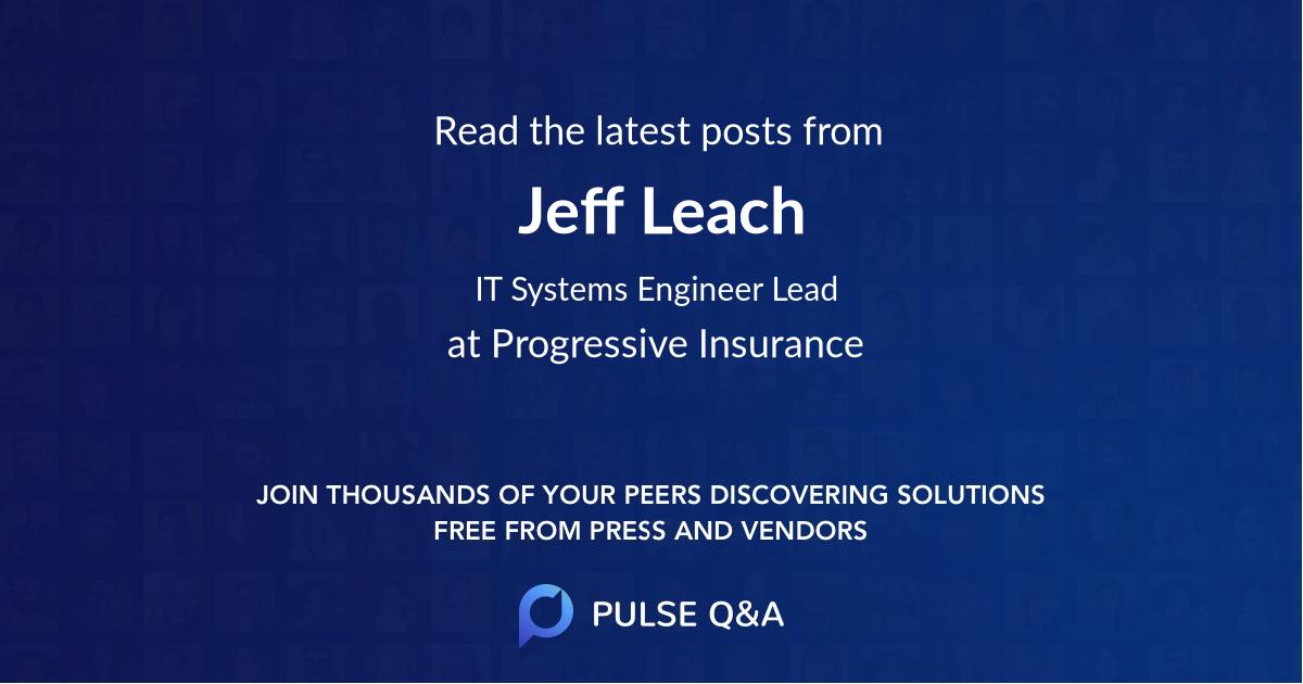 Jeff Leach