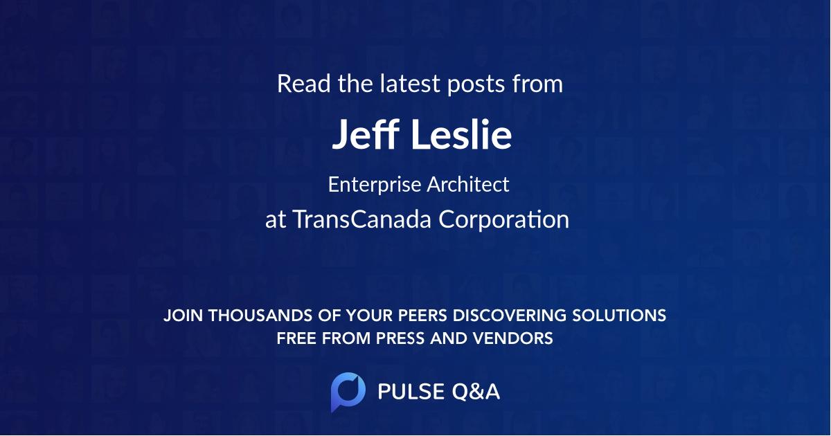 Jeff Leslie