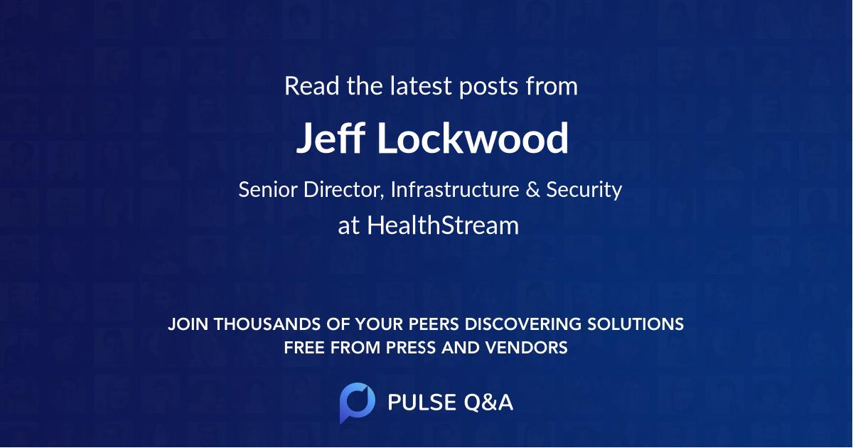 Jeff Lockwood
