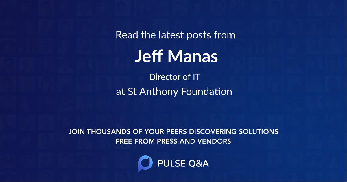 Jeff Manas