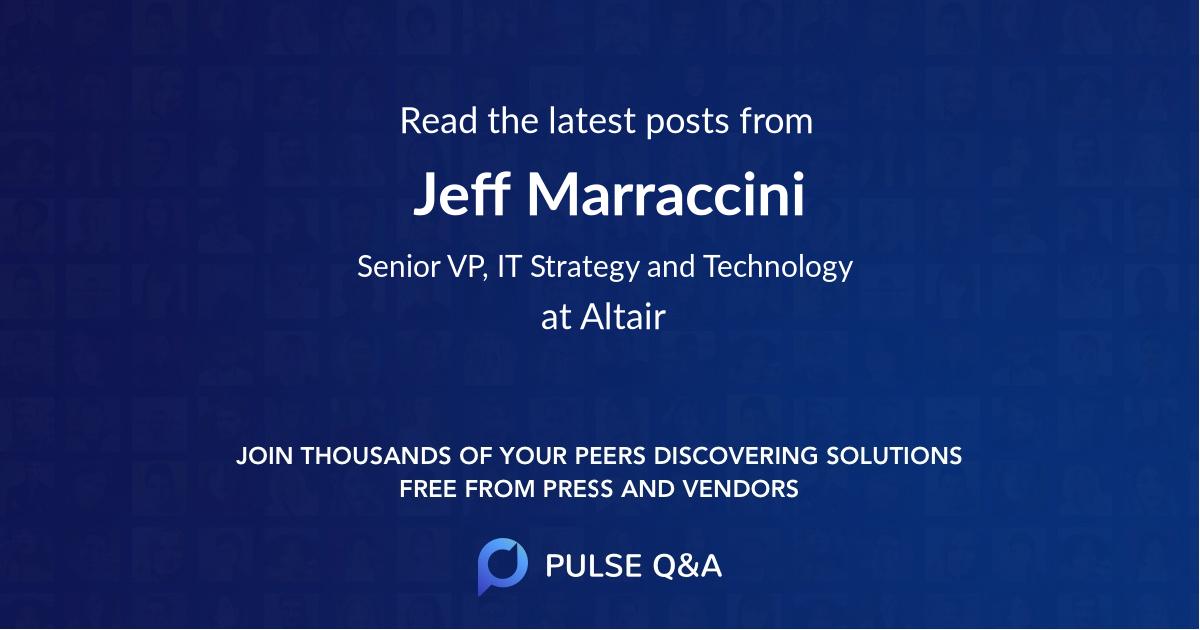 Jeff Marraccini