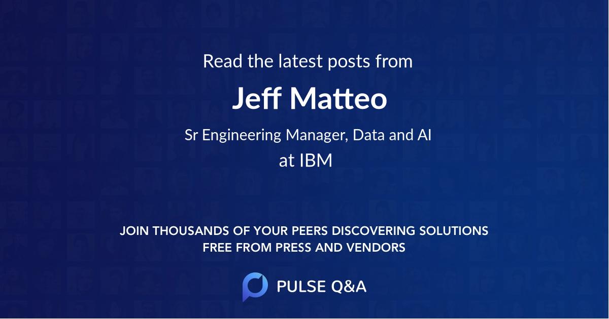 Jeff Matteo