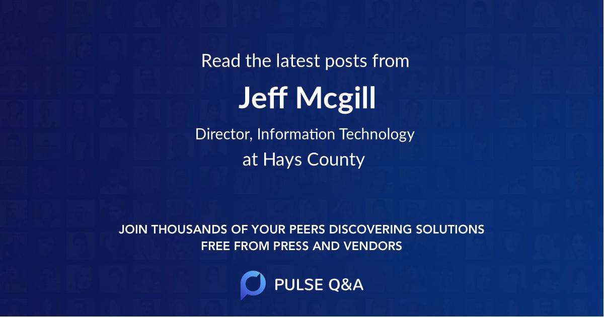 Jeff Mcgill